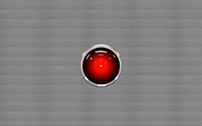 HAL 9000 silver dot