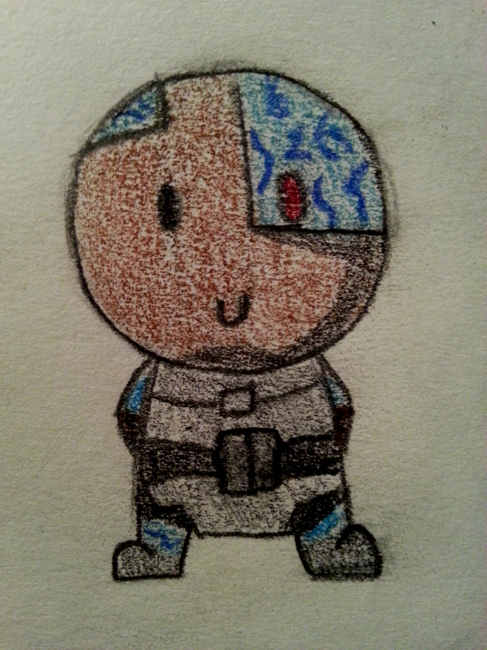 Chibi Cyborg by Nancy171112