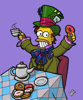 MAD HOMER HATTER by Luber-Lord