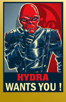 RED SKULL PROPAGANDA by Luber-Lord