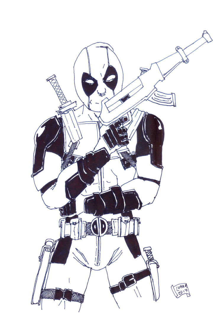 THE NAME IS POOL ... DEADPOOL by Luber-Lord