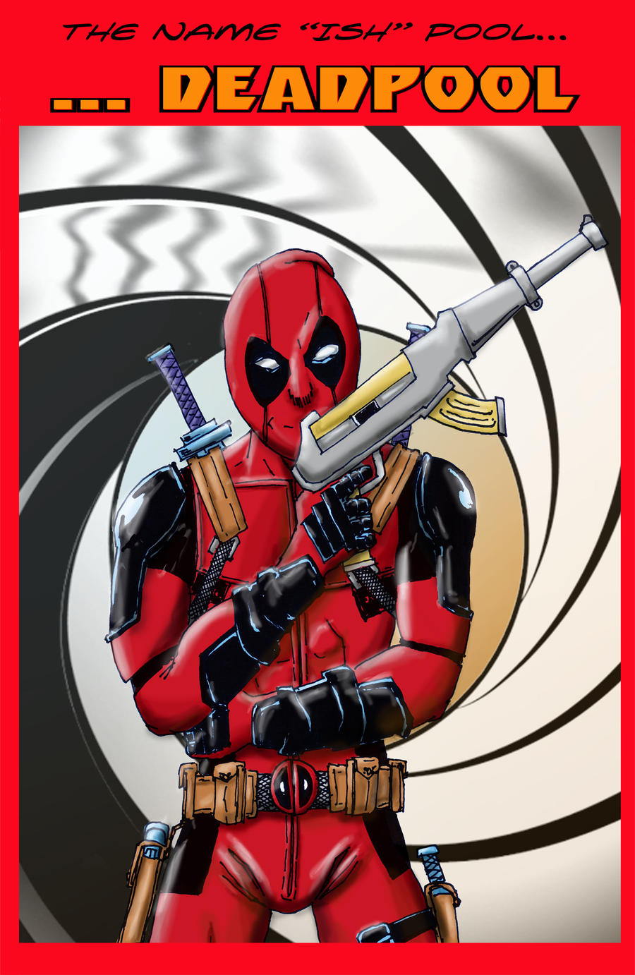 DEADPOOL COLOR by Luber-Lord