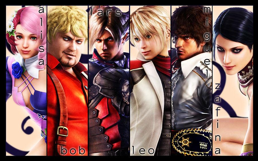 tekken 6 all female characters