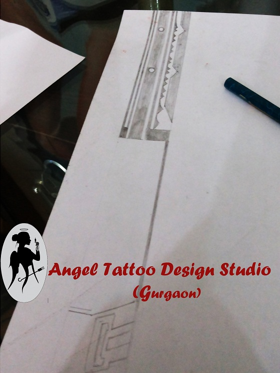 armband tattoo design by angel tattoo studio on deviantart. Black Bedroom Furniture Sets. Home Design Ideas
