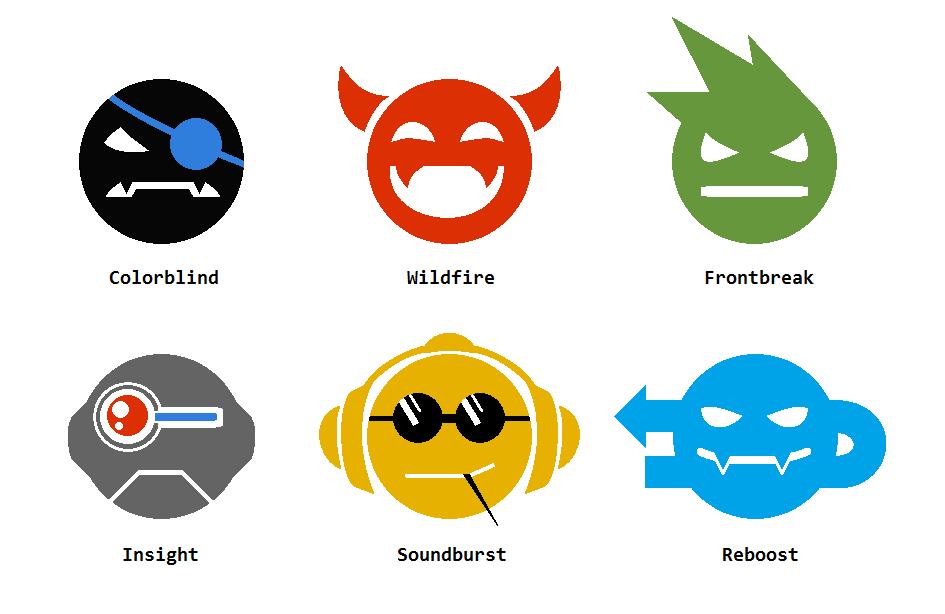 Capslock: Virus-Icons by Nemo-Nessuno