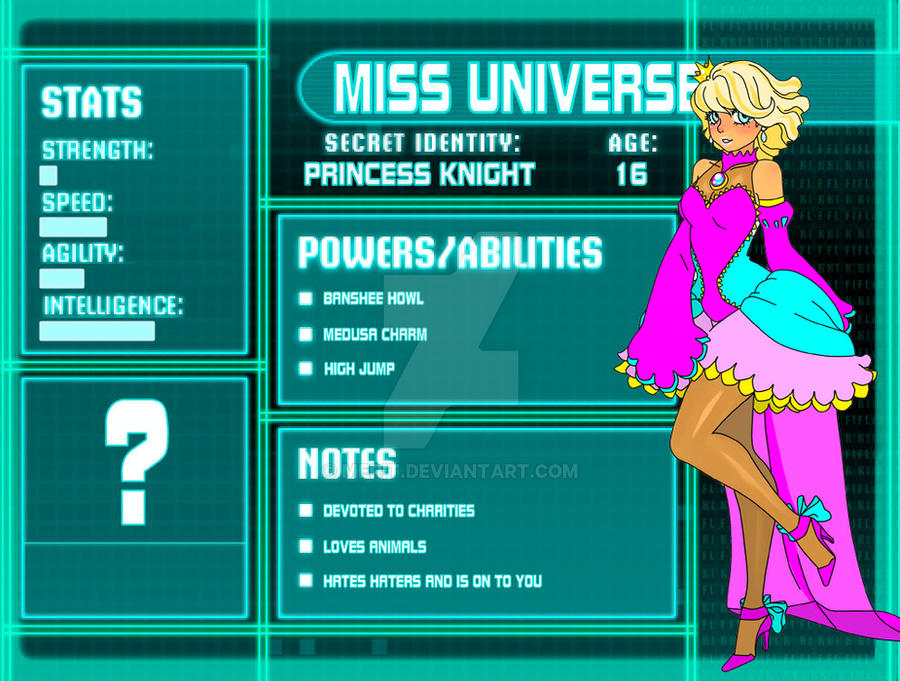 SGPA - YJ - Miss Universe by merit