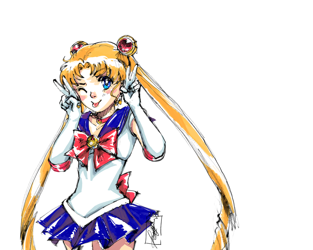 Sailormoon by merit