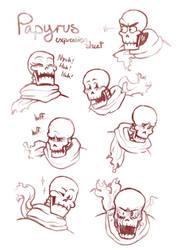 Papyrus Expression Sheet