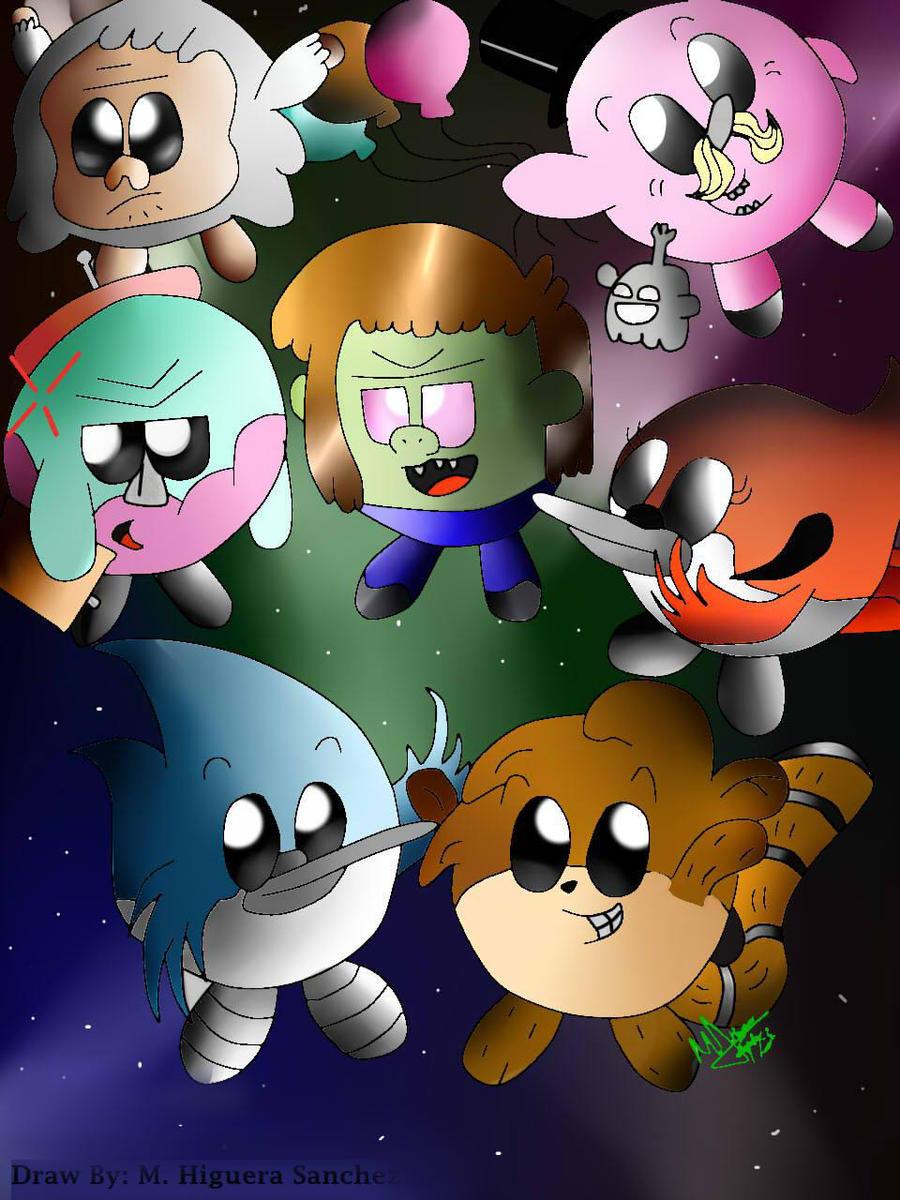A Regulars Kirbys by FanChaosLevel3