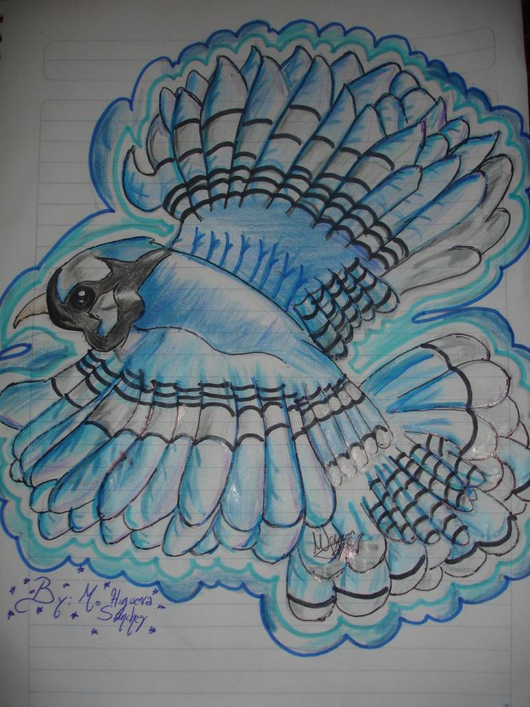 a Really Blue Jay - Mordecai by FanChaosLevel3