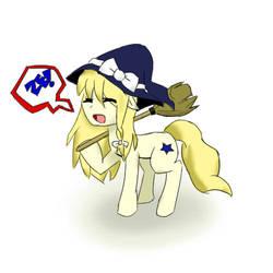 Marisa is Magic Pony by Marisa-Magic
