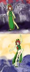 Young Chinese Dragon by Marisa-Magic