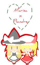 Marisa x Flandre by Marisa-Magic