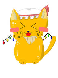 Touhou Kitty Flandre by Marisa-Magic