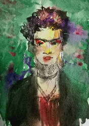 Frida Kahlo by kanwala13
