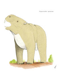 The lovechild of a beaver, an elephant and a bear