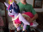 my little pony very huggable princess twilight