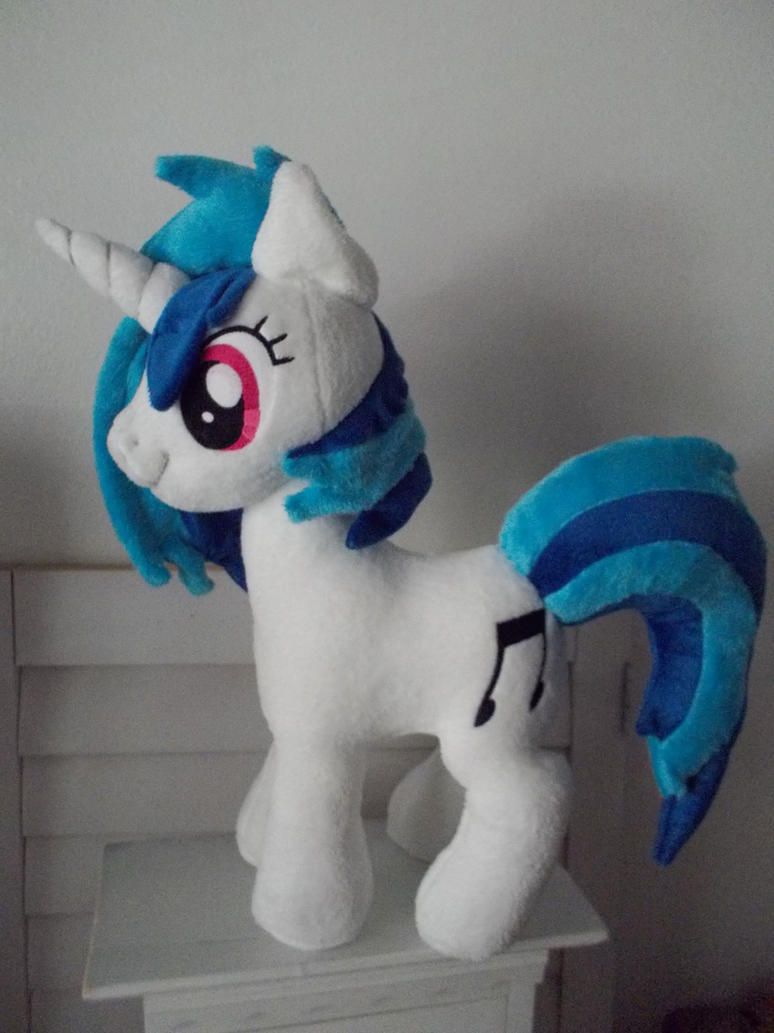 my little pony Custom DJ by CINNAMON-STITCH
