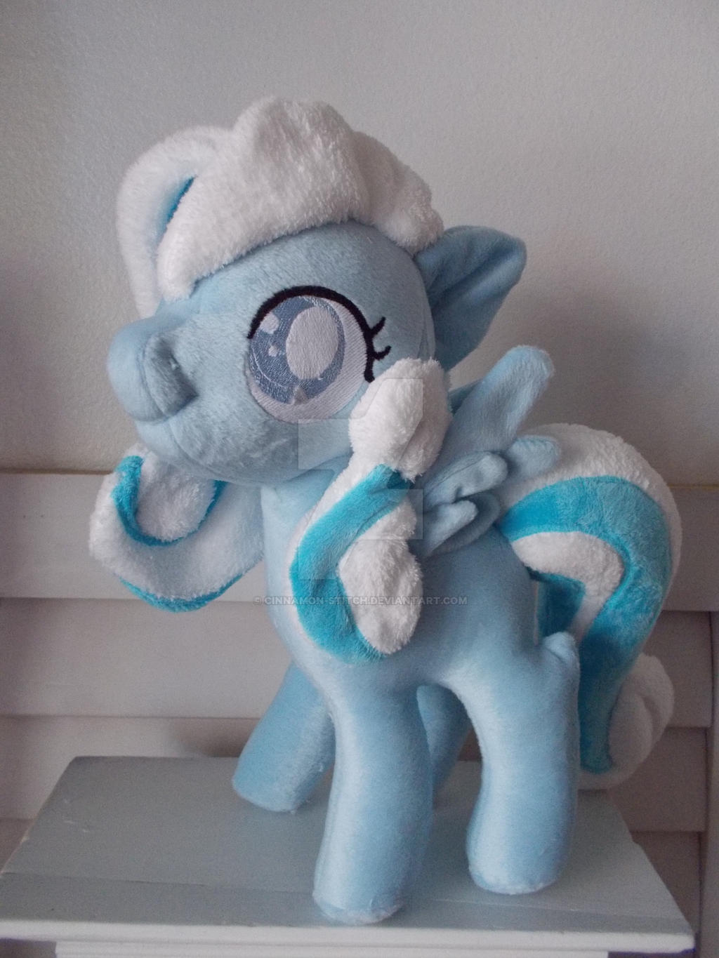 My little pony Oc Snowdrop by CINNAMON-STITCH