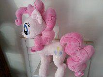 My Little Pony Pinkie Pie Plush by CINNAMON-STITCH