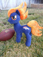 My Little Pony Denver Bronco Plush by CINNAMON-STITCH