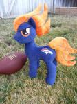 My Little Pony Denver Bronco Plush