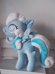 My Little Pony Snowdrop plushie by CINNAMON-STITCH