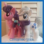 Sugar Bell and Double Diamond Plushie Comisssion