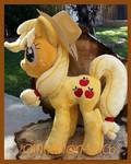My Little pony Applejack Plush Commission