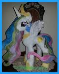 mlp Princess Celestia Plush Commission