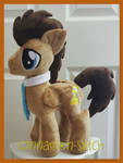 mlp plushie commission Dr Whooves completed