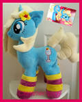 mlp plushie commission BLUE LAGOON completed