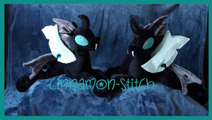 mlp plushie commission THORAX 6 and 7 completed by CINNAMON-STITCH