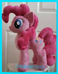 mlp plushie commission PINKIE PIE