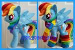 mlp plushie commissions Rainbowdash