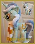 mlp plushie commission Lyra Heartstrings