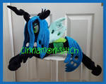 mlp plushie commision Queen Chrysalis