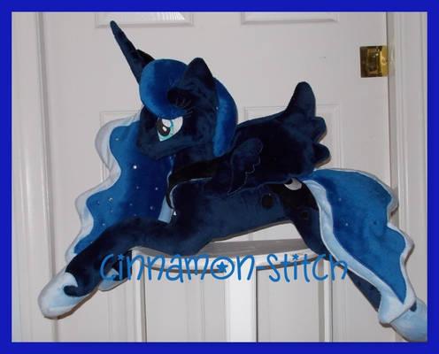 mlp plushie commission Princess Luna