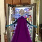 Tell the guards to open up! The FRIDGE!!!