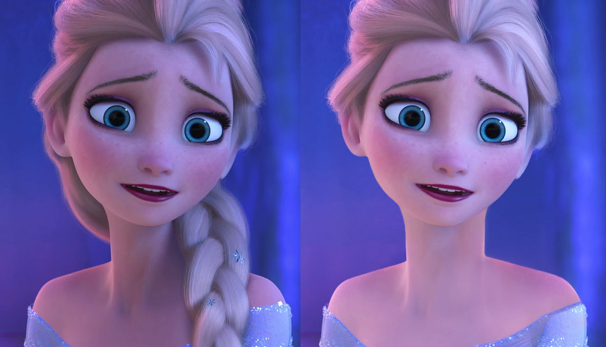 Alternative Elsa Hairstyle By Televue On Deviantart
