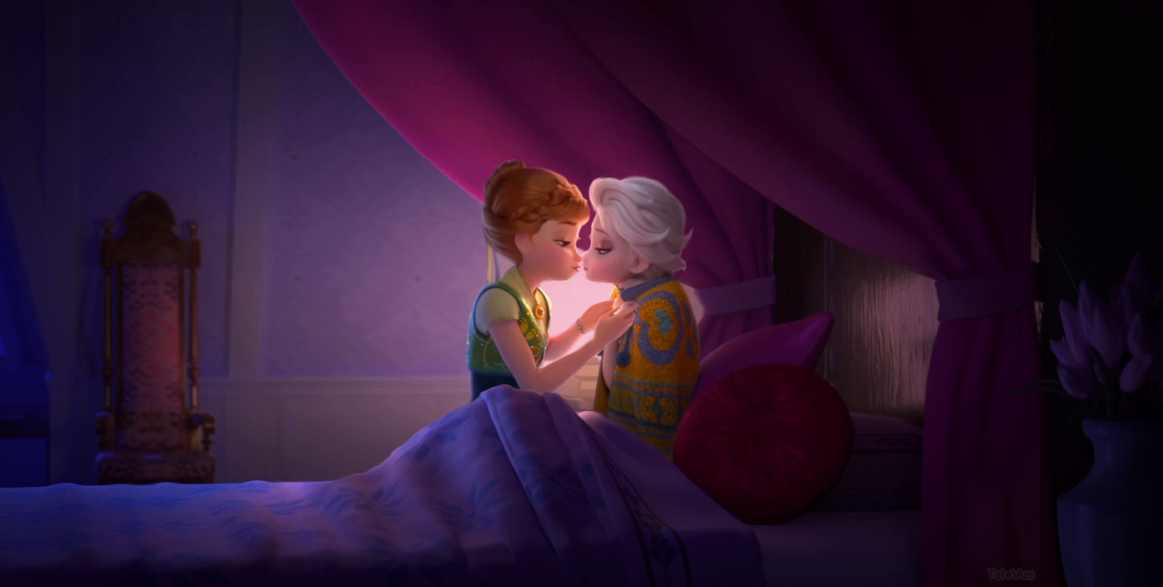 Movies Frozen FollowFav Passionate Kiss By  Its Elsanna set in the canon universe I dont know why I wrote this thing but Im not sorry I did Dont like dont read Thanks Elsa stood in her throne room near the throne observing her younger sister Anna who was standing by the newly installed huge open window The sunlight that