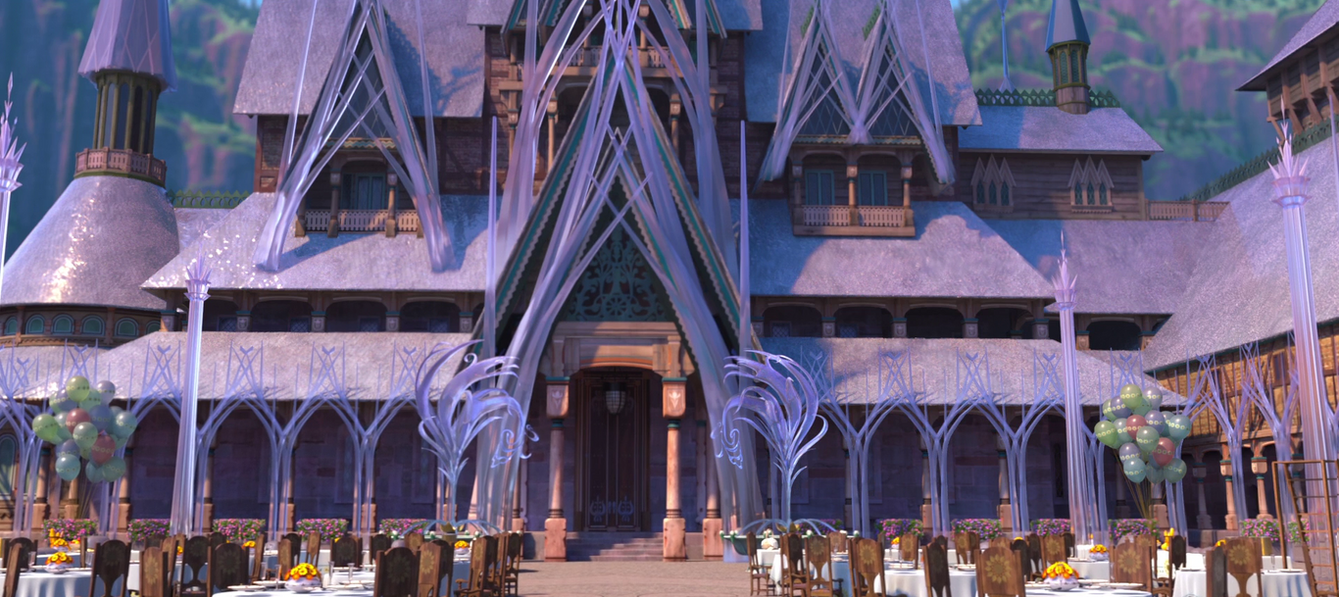 Frozen Fever Arendelle Castle Doors By Televue On Deviantart