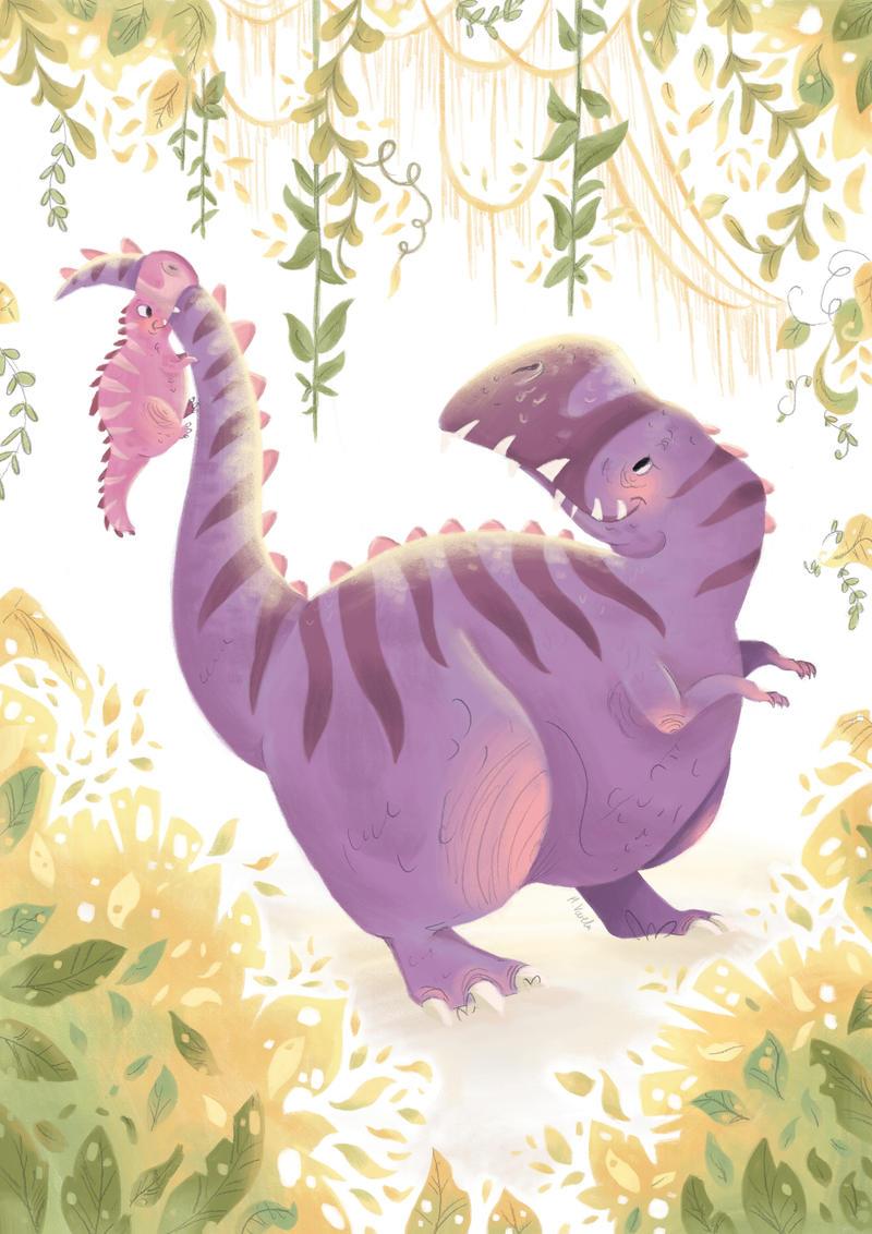 Momma T Rex by hannahv92