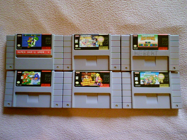 GC3: Super Mario Collection by shnoogums5060