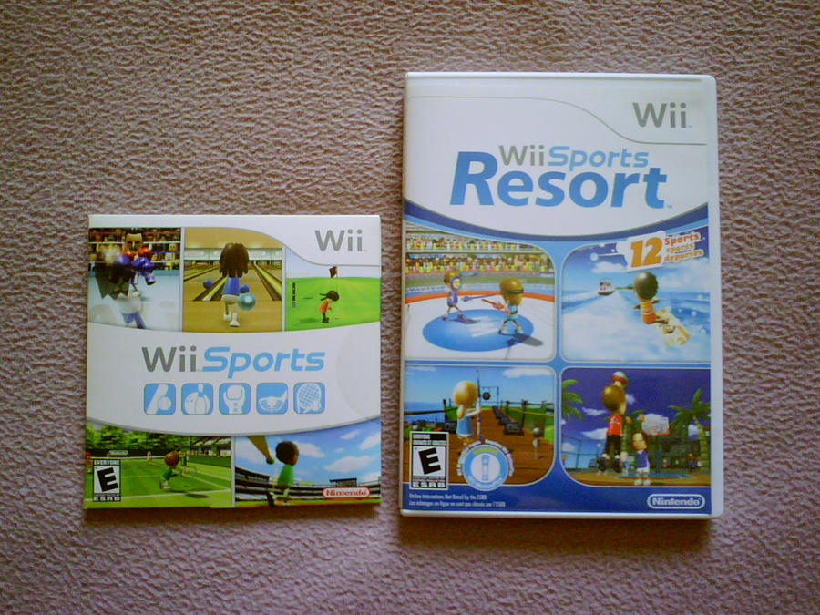 The Wii Sports Games by shnoogums5060