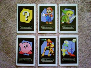 The Six Included AR Cards