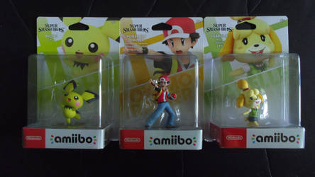 The Three New Cute amiibo Figures