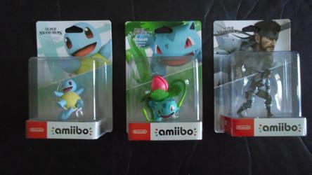 The Pokemon And Snake amiibo Figures