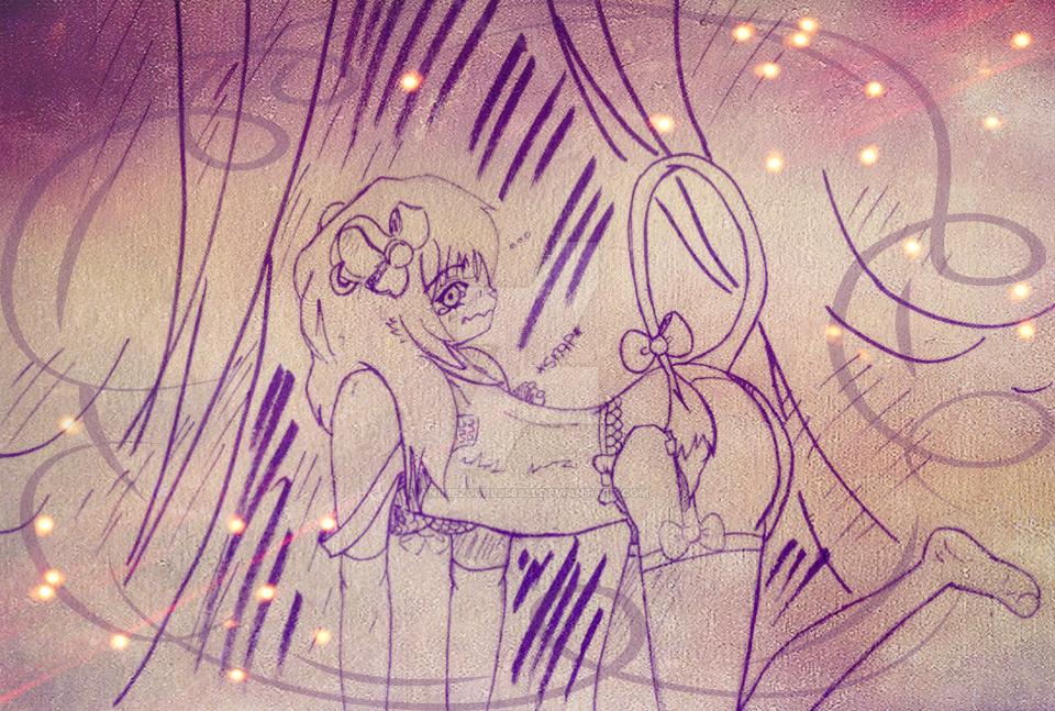 Kikyo Wasn't ready-Strip club concept. by Animezgurl358321
