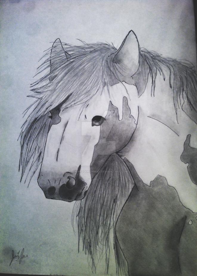 Gypsy Horse by Animezgurl358321